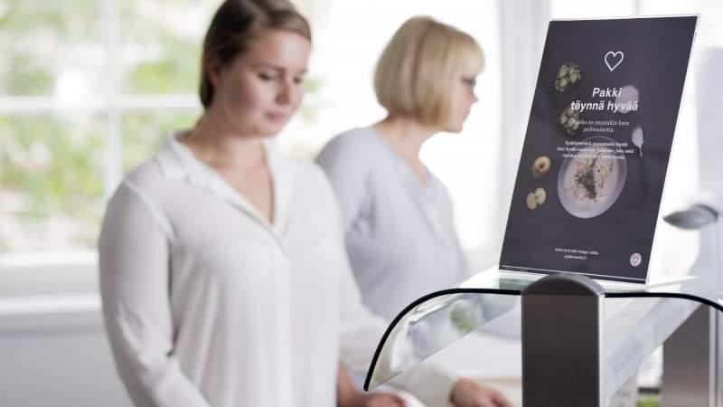 Sydänmerkki-ateriat startanneet Mikkelissä, Hämeenlinnassa sekä ISS:n opiskelijaravintoloissa