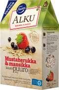 Fazer Alku Mustaherukka & Mansikka kaurapuuro