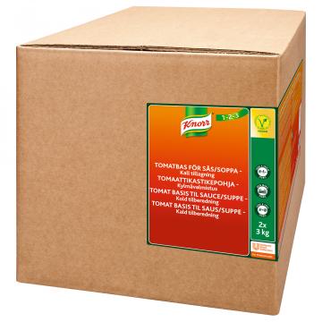 Knorr Tomaattikastikepohja, kylmävalmistus 2x3kg/60 L