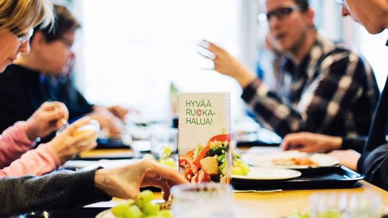 Sydänmerkki-ateriat käyttöön Vaalan ruokapalveluissa