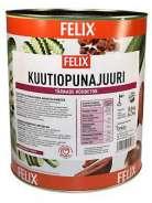 Felix 8,6/6,2kg kuutiopunajuuri
