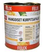Felix mangoiset kurpitsapalat 3,0/1,9kg